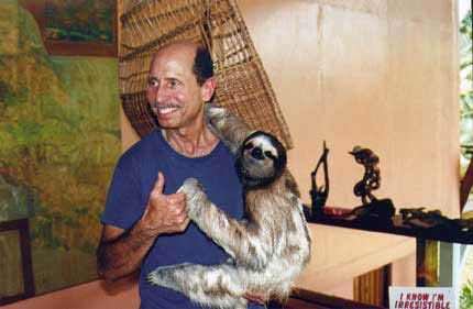 Ken + Buttercup the Sloth